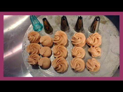 Tüllenkunde - Welche Spritztülle wofür benutzten ? - Basiswissen für Tüllen - Kuchenfee - YouTube