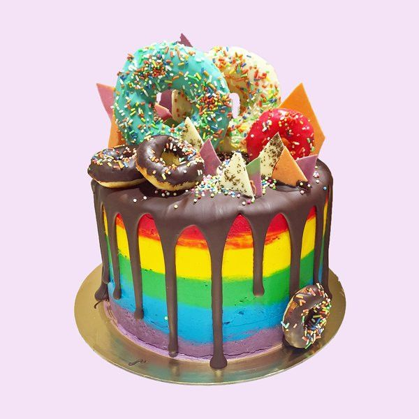 Rainbow Cake London