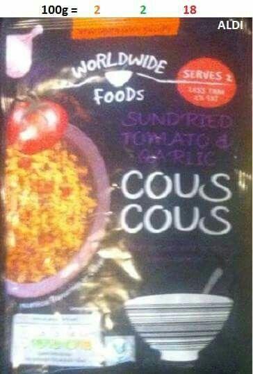 Aldi couscous
