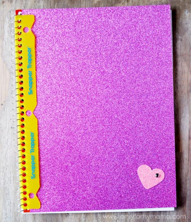 Diy Glitter Book Cover : Best images about d c fix back to school on pinterest