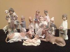 Lladro Nativity--11 piece set