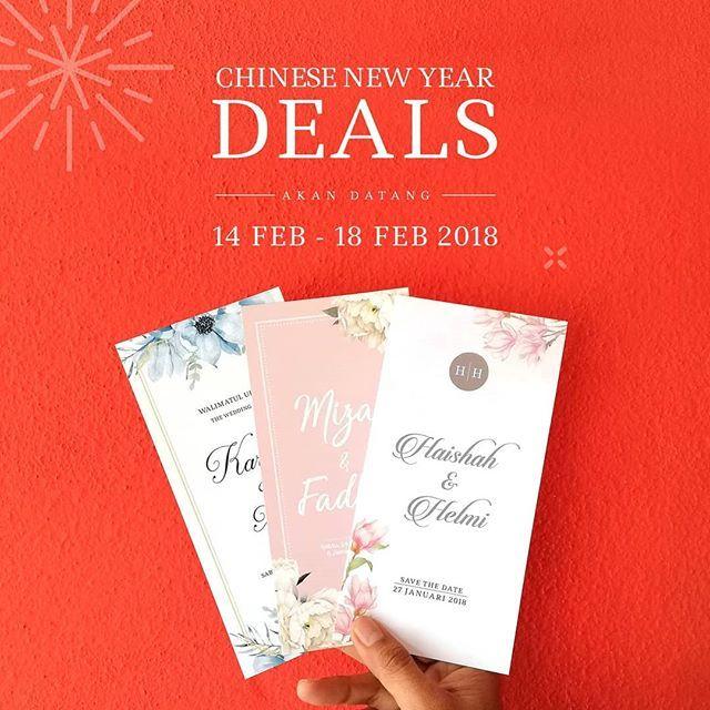 Chinese New Year Super Deal Untuk Maklumat Lanjut Whatsapp 017 342 4341 017 342 4341 017 342 4341 Kad Kahwin Book Cover Chinese New Year