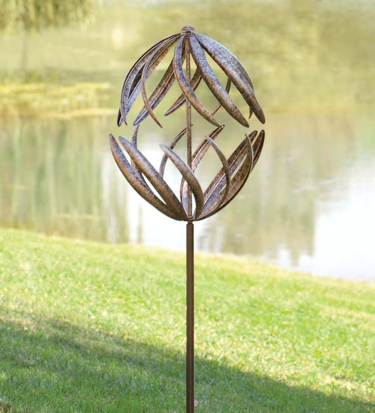 Equal parts fun and fascinating, our Banana Peel Wind Spinner has a lock on garden entertainment!