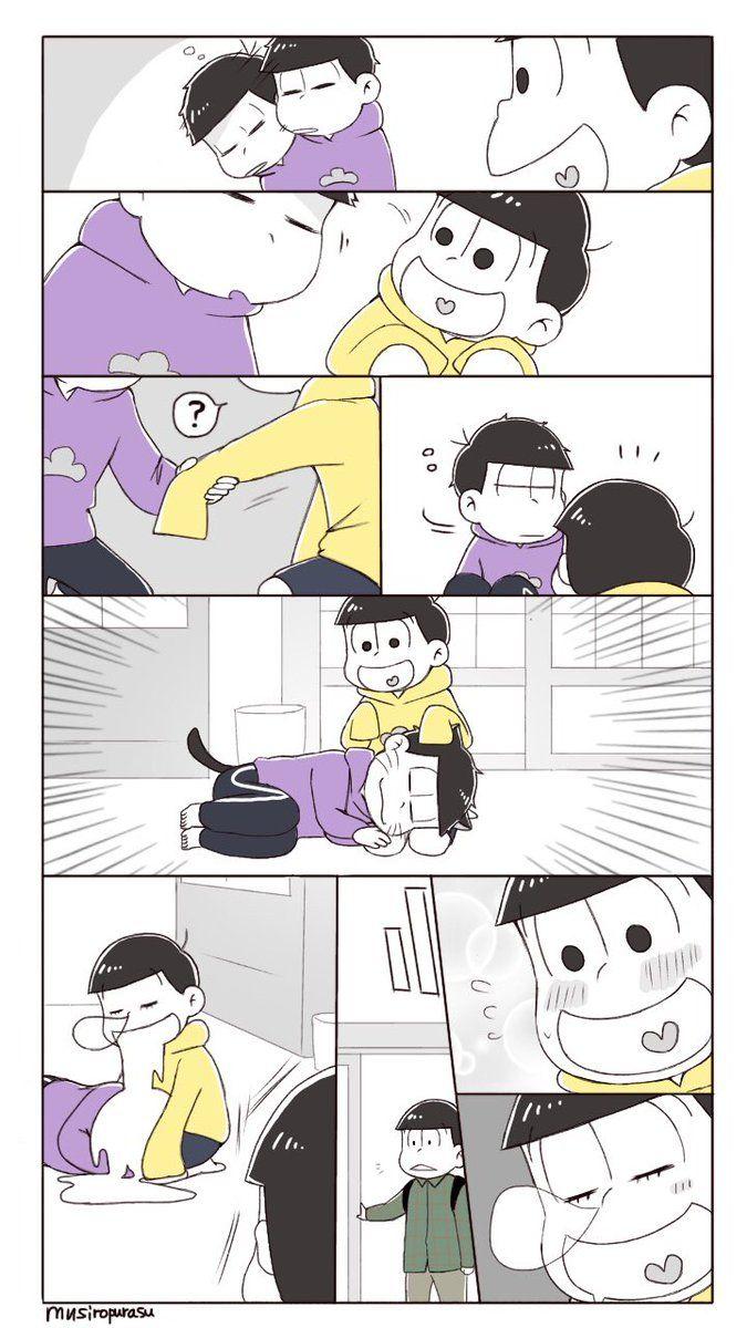 Ahhh Choromatsu save Ichimatsu from certain death by Jyushimatsu