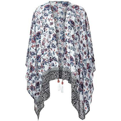 Een mooie poncho mag niet in jouw garderobe ontbreken. Het maakt jouw outfit compleet en is ideaal voor als het 's avonds afkoelt
