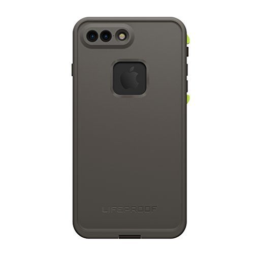 Lifeproof FR SERIES Waterproof Case for iPhone 7 Plus (ONLY) - Retail Packaging - SECOND WIND (DARK GREY/SLATE GREY/LIME)