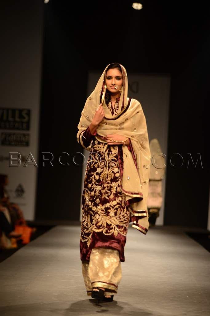 Pakistani suit.