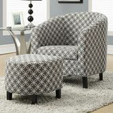 Found it at Wayfair - Brownell Barrel Chair and Ottoman Set