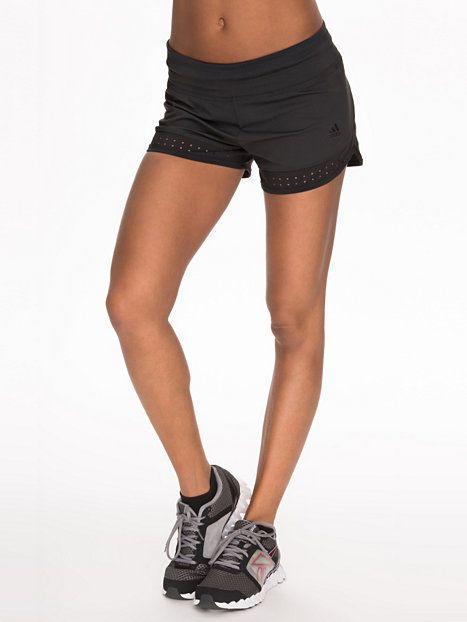 Spo Shorts - Adidas Performance - Svart - Shorts - Sportsklær - Kvinne - Nelly.com