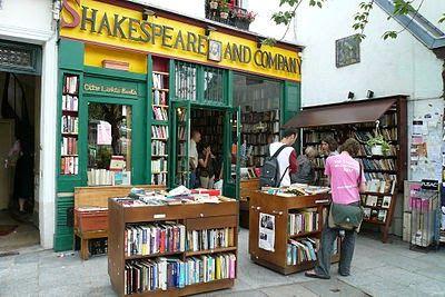 Shakespeare and company (París).Toda una institución que merece un viaje