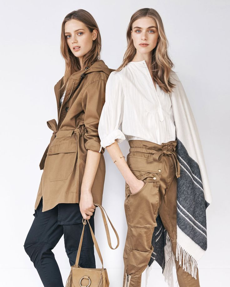 This season's newest recruits are army-inspired utility pants and a khaki belted trench. View autumn arrivals and inspiration at http://www.countryroad.com.au/shop/woman