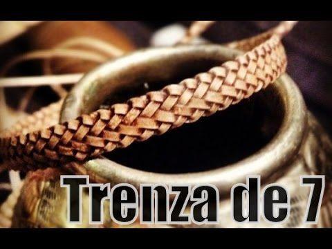 """Trenza de 7 - Trança de sete (Pluma) """"El Rincón del Soguero"""""""