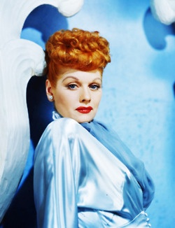 I really really really love Lucy.  She's the Queen for all us redheads!