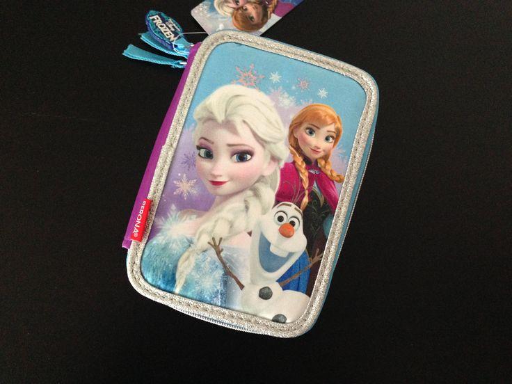 Disney Frost penalhus med 3 rum ★ Gratis fragt