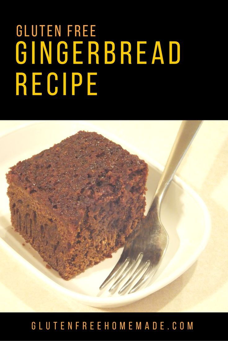 Any way you dish it up, you'll want a second helping of this irresistible gluten free gingerbread recipe!   |  GlutenFreeHomemade.com