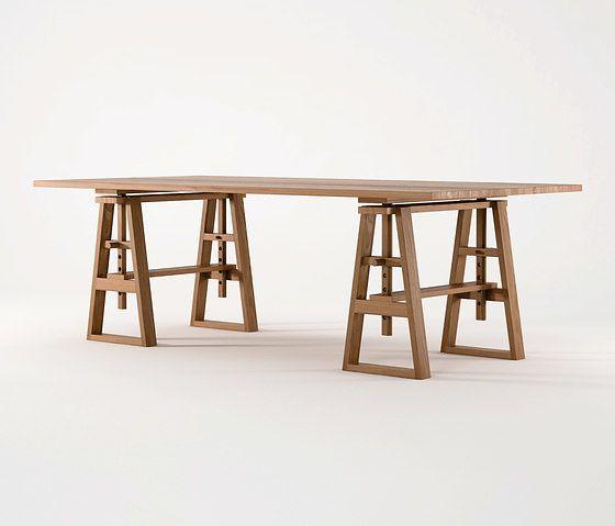 Karpenter Trestle Table F U R N I T E D S G
