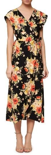 Women's Sanctuary Cassadei Floral Wrap Dress