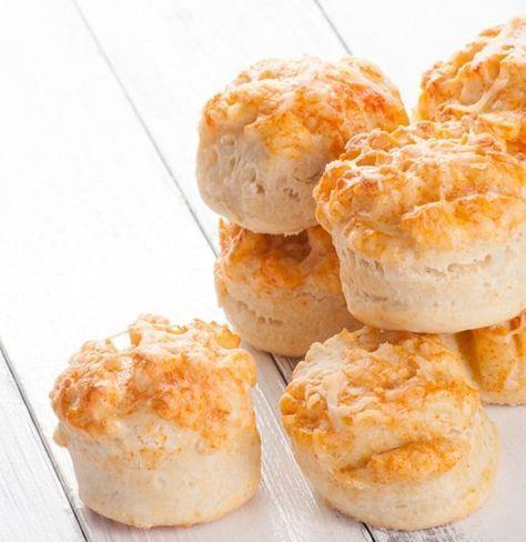 Te presentamos una deliciosa receta, scones de queso, para que acompañes tu infusión de la tarde.