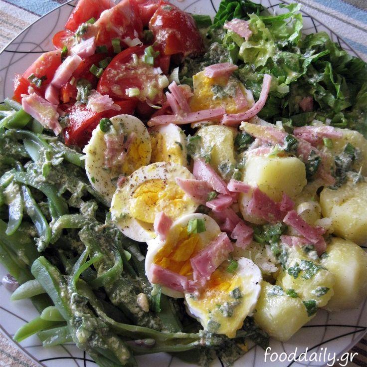 Σαλάτα νισουάζ- Nicoise salad