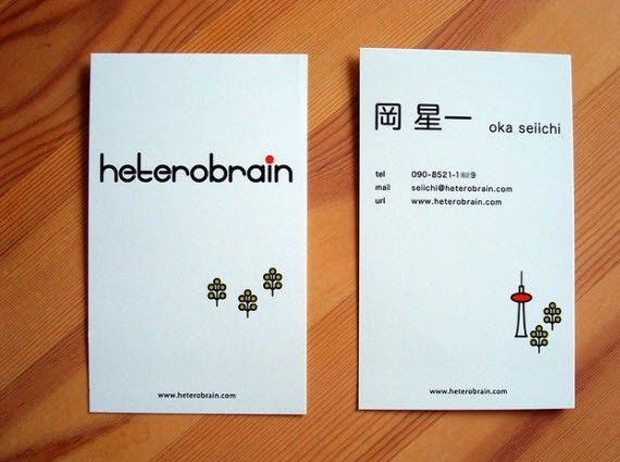 beautiful creative and minimal business cards