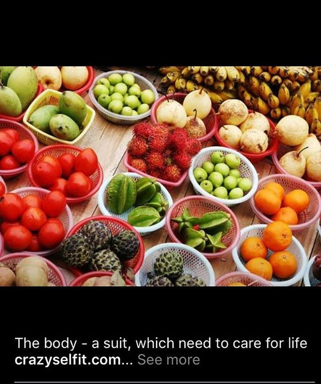 The body a suit Which need to care for life !!! Crazyselfit.com Nutrition develop