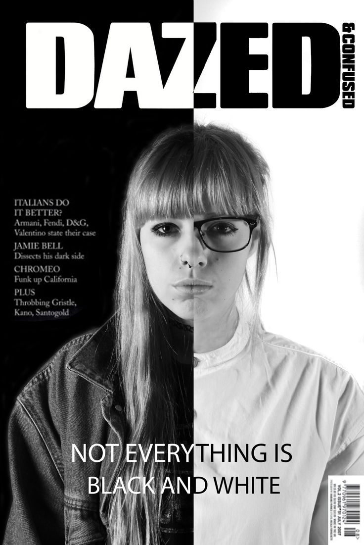 My dazed and confused magazine cover.