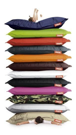 Fat Boy Oversized Bean Bags for Patio...question is which colors??