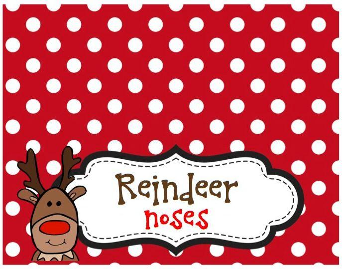Best 25+ Reindeer noses ideas on Pinterest