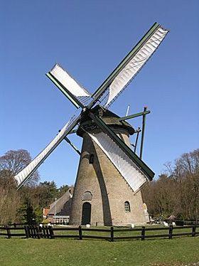Flour mill Kijkduin, Schoorl, the Netherlands.