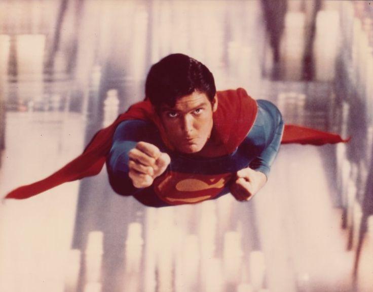 Christopher Reeve as Superman (from MetropolisPlus.com/Superman)