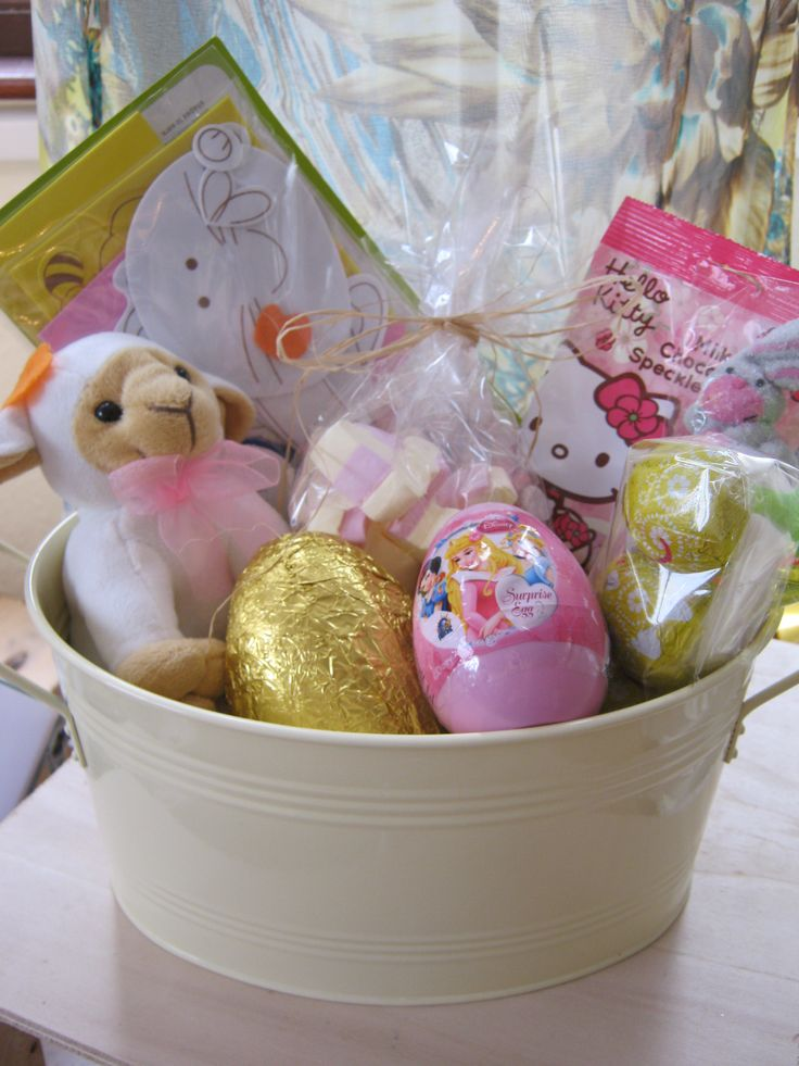 The 25 best easter hampers ideas on pinterest easter bonnets girls easter hamper chic dreams negle Image collections