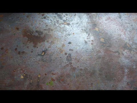 Имитация ржавого металла. Imitation of rusty metal. Rostiges Metall nach...