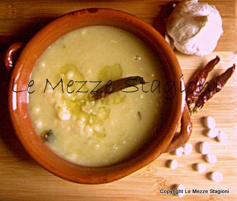 Zuppa di fagioli bianchi |Ricetta leggera