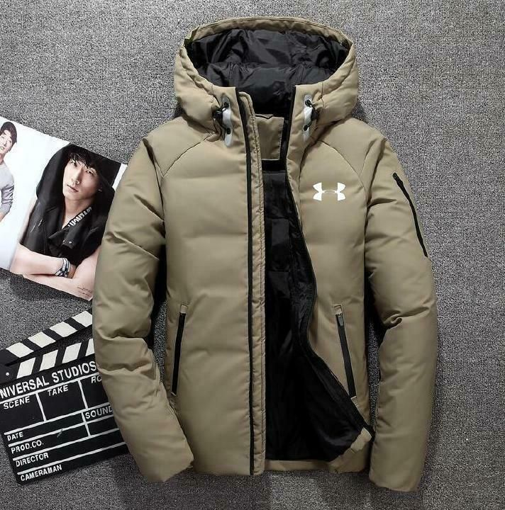 Under Armour Men Down Coat Winter Thick Hoodie Outerwear Jacket Hooded Warm Coat