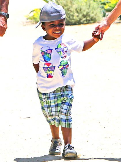 Louis Bullock, also known as the most stylish kid in preschool, shows off his summer style.