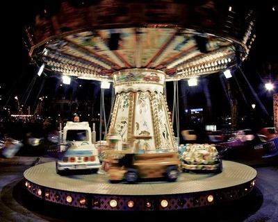 Lunapark. Fiesta Major de Gracia. Barcelona