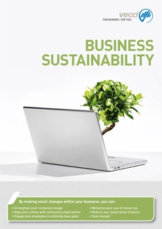 Business Sustainability brochure for Vecci Sustainability Services