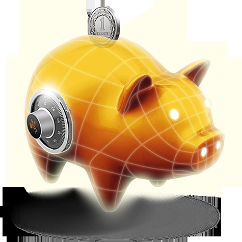 Świnka Skarbonka - oszczędzaj na dowolny cel