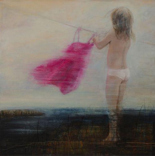Tina Tobiassen   Akryl på lerret   Motiv 120 x 120 cm   5 % kunstavgift inkludert i prisen   Klikk på bildet for en større utgave