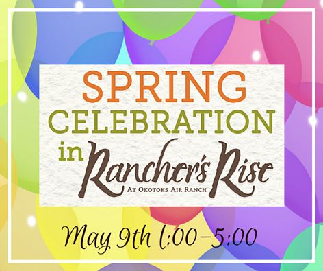 Celebrate Spring with Ranchers' Rise on May 9th. We have much in store for you and your family, including complementary catering by Tao Events and Country 105 live on location. http://rgn.bz/yYBJ