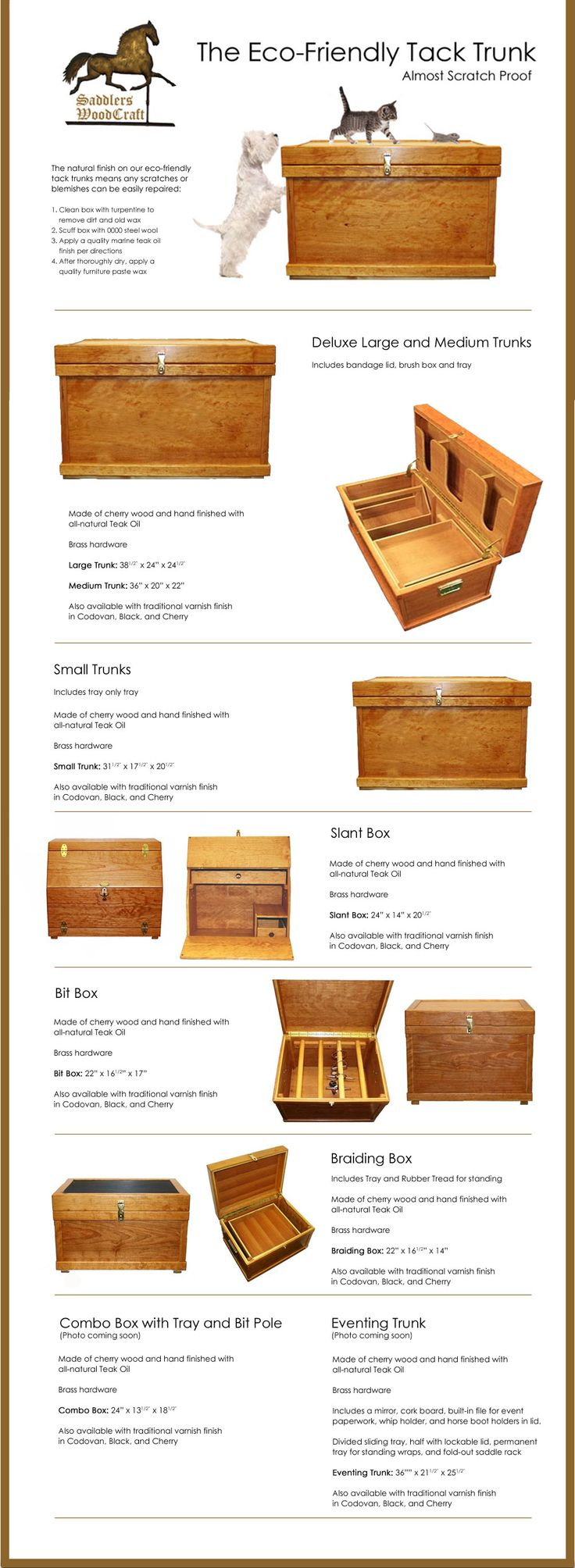So Helpful!!! Tack trunk measurements