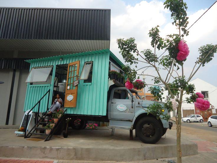 Maboneng ice cream shop