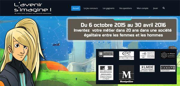 "En marge du #salonvirtuelOnisep @Onisep_LR lance un #seriousgame #innovant ""L'avenir s'imagine !"""