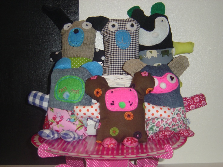 Happy knufels Made By sandracreaties.blogspot.com