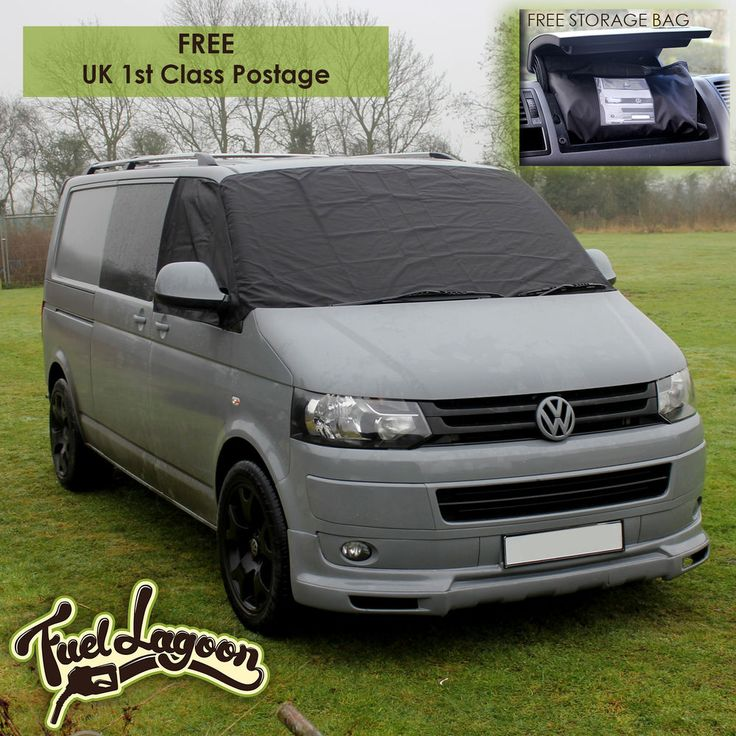 VW Transporter Van T5 T6 Window Screen Cover Wrap Frost Black Out Blind Camping  | eBay