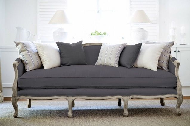 French Provincial Couch makeover