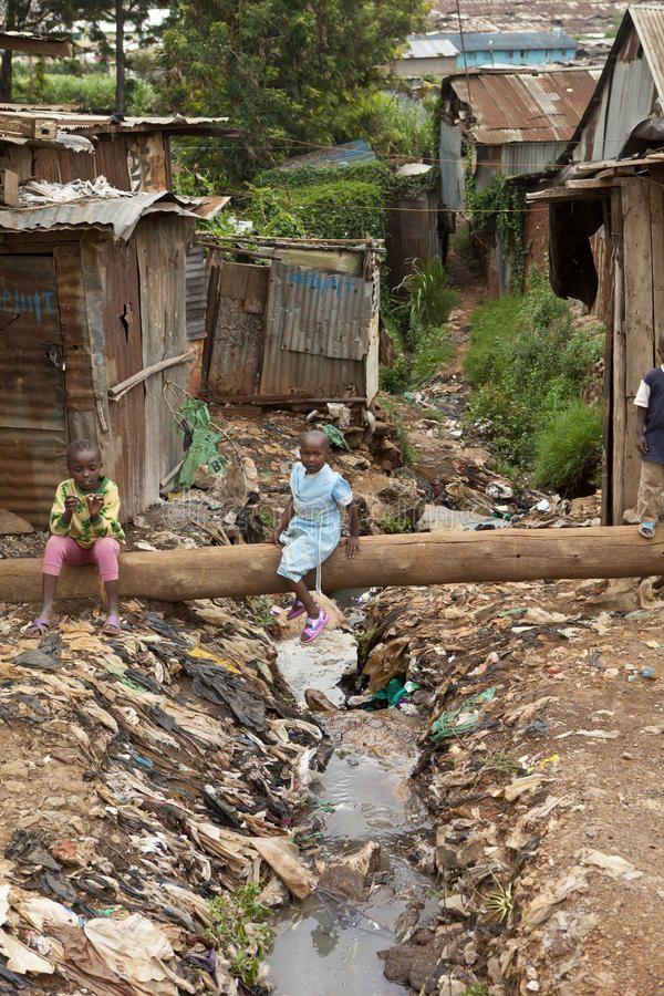 Kids And Sewage Kibera Kenya Kids Playing Near Sewage Kibera Kenya Ad Sewage Kids Kibera Playing Kenya Ad Kibera Stock Images Free Kenya
