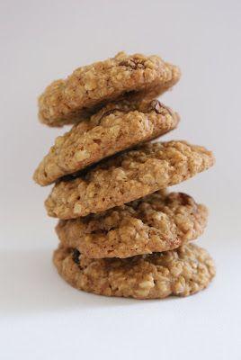 What Rachel ate today: Oat and Raisin Cookies