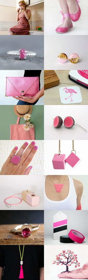 Greek lady in pink by Ginger Zoo and Co. on Etsy--Pinned with TreasuryPin.com