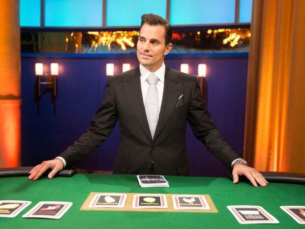 Learn about Food Network's newest show, #KitchenCasino, and host Bill Rancic!: Food Network, Food Com, Watches Food, Favorite Tv, Book Worth, Kitchens Casino, Series Kitchens, Favorite Recipe, High Stak Games